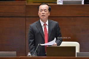 Bộ trưởng Phạm Hồng Hà làm rõ một số vấn đề các đại biểu Quốc hội nêu về dự án Luật Xây dựng (sửa đổi)