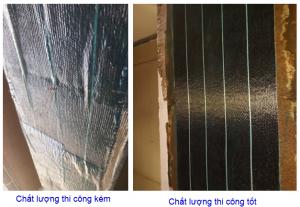 Thi công tấm carbon fiber trong gia cố kết cấu bê tông cốt thép: Những lỗi thường gặp và cách khắc phục